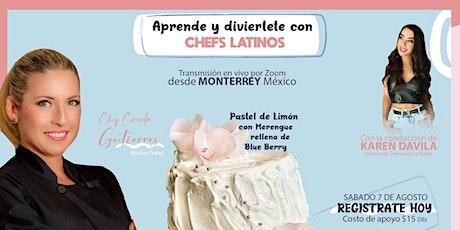 Aprende Con Chefs Latinos entradas