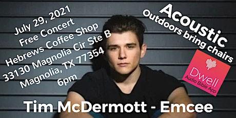 Nathan Sheridan Free Concert at Hebrew's CoffeeHouse Magnolia TX tickets