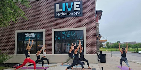 Patio Yoga at Live Hydration Legacy tickets