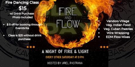 Fire & Flow: A night of Fire & Light  ( Fire dance Class/ Industry Night) tickets