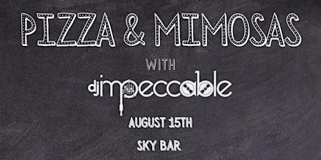 Pizza & Mimosas tickets