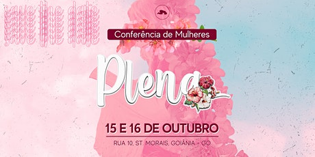 Conferência de Mulheres - PLENA ingressos