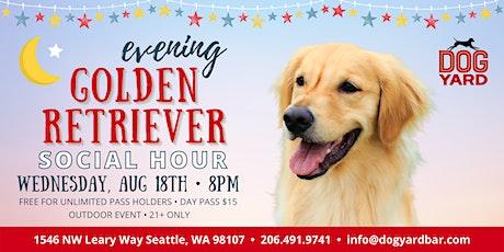 Seattle Golden Retriever Evening Meetup at the Dog Yard tickets