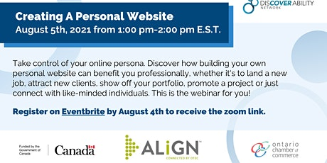 Personal websites for job seekers with a disability? Can they help? tickets