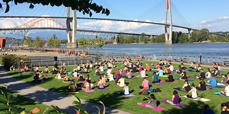Yoga by the River , August 11th - All Levels Flow + Arm Balances tickets