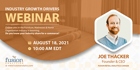 Industry Growth Drivers - Furniture, Mattress and Home Organization tickets