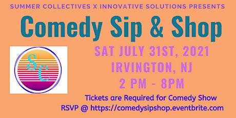 Comedy Sip Sangria & Shop tickets