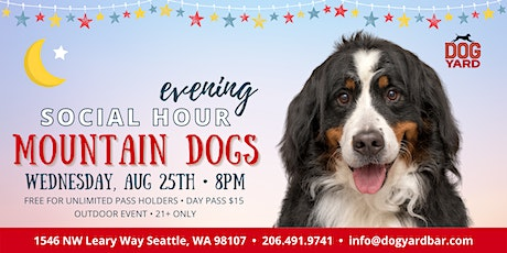 Seattle Mountain Dog Evening Meetup at the Dog Yard tickets
