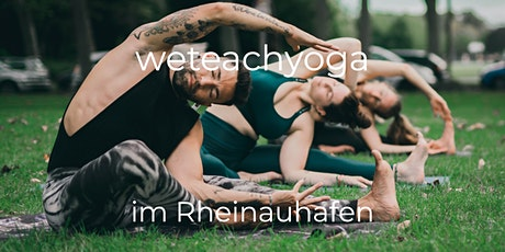 weteachyoga @Rheinauhafen  31.10.2021 - Open Class Tickets