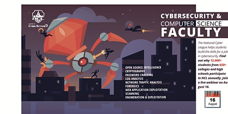 Why NCL, for Cybersecurity Faculty tickets