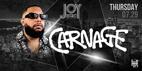 Carnage at Joy District- Lollapalooza Afterparty tickets