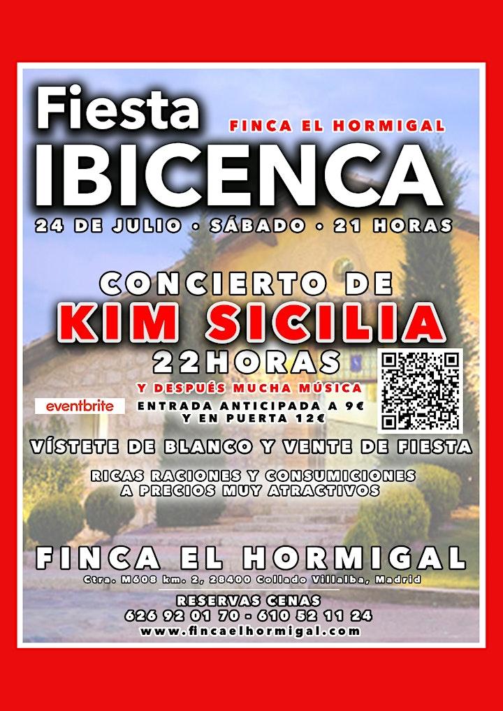 Imagen de CONCIERTO de Kim Sicilia + FIESTA IBICENCA EN LA SIERRA (Madrid)