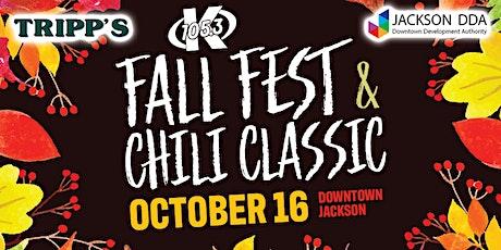 Inaugural K105.3 Fall Fest & Chili Classic tickets