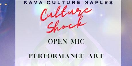 Culture Shock OPEN MIC   at Naples Kava Culture tickets