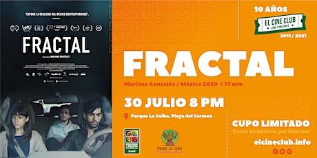 FRACTAL / Estreno en Playa boletos