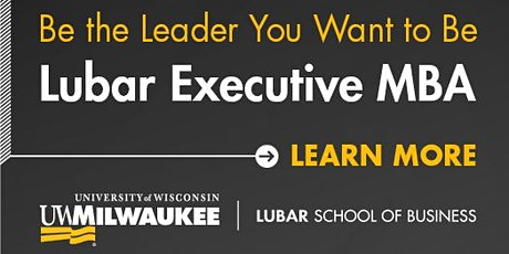 Lubar Executive MBA Information Session tickets