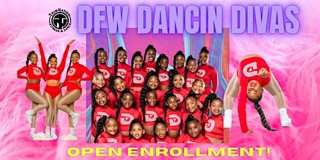 """DFW DANCIN DIVAS """"OPEN ENROLLMENT"""" tickets"""