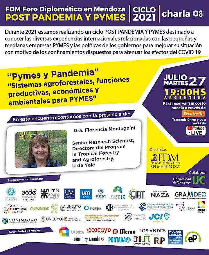 """Imagen de FDM- Ciclo 2021 """"POST PANDEMIA y PYMES"""" (virtual) charla 08"""