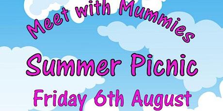 Meet with mummies summer picnic tickets