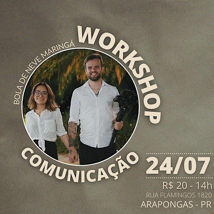 Imagem do evento WORKSHOP COMUNICAÇÃO BDNA
