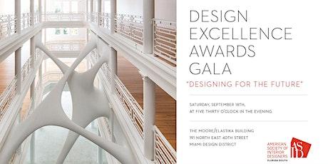 2021 Design Excellence  Awards Gala tickets