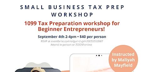 Small Business Tax Preparation Workshop tickets