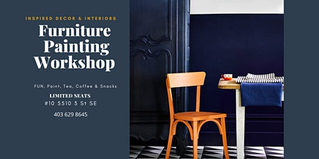Furniture Painting Workshop tickets