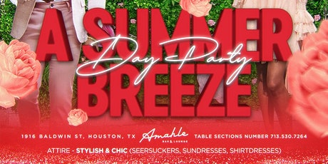 KAΨ presents Summer Breeze Day Party @ Amahle Bar & Lounge tickets