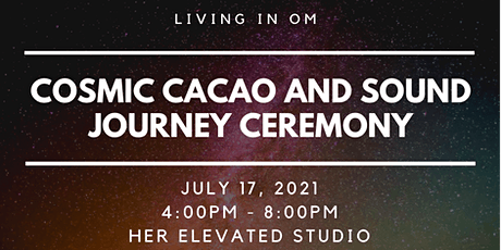 September Cosmic Cacao and Sound Journey Ceremony tickets