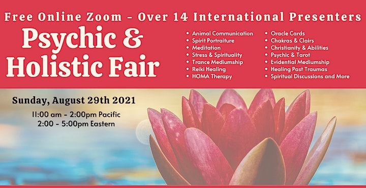 Free Online Psychic and Holistic Fair For The New Lightworker image