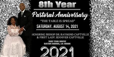 8th Year Pastoral Anniversary Banquet tickets