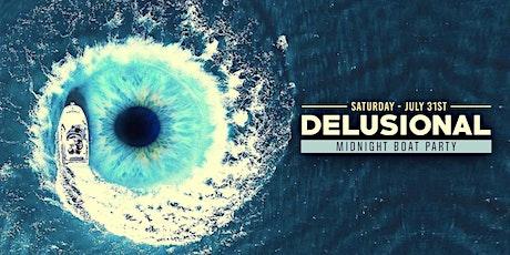 Delusional NY Midnight Boat Party | Cristian Arango & Friends tickets