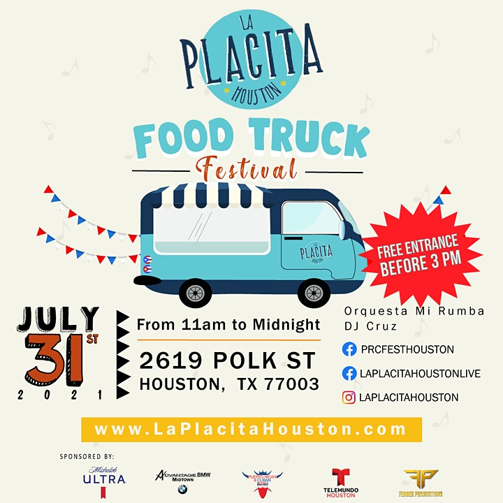 LA PLACITA HOUSTON | Food Truck Festival image