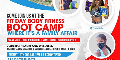 Fit Day Body Fitness Bootcamp tickets
