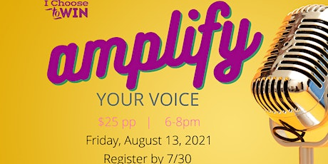 Amplify Your Voice Event tickets