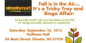 Fall is in the Air... It's a Tricky Tray and Bingo...