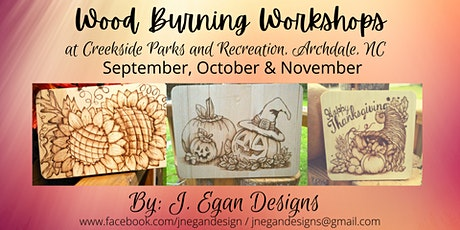 Wood Burning Workshop - August 2021 tickets