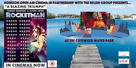 Rocketman Open Air Cinema at Cotswold Water Park tickets