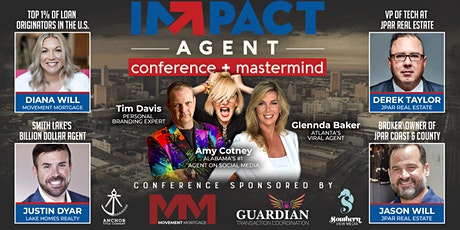 Impact Agent Conference + Mastermind tickets