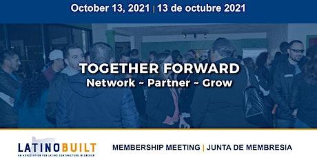 LatinoBuilt's 4th Quarter Membership Meeting tickets