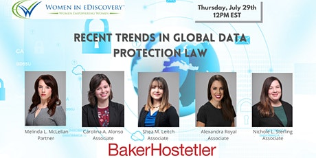 Recent Trends in Global Data Protection Law tickets