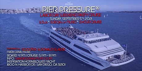Pier Pressure San Diego Labor Day Weekend Mega Yacht Party tickets