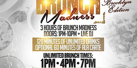 Brunch madness brooklyn edition w/ 2 hour bottomless tickets