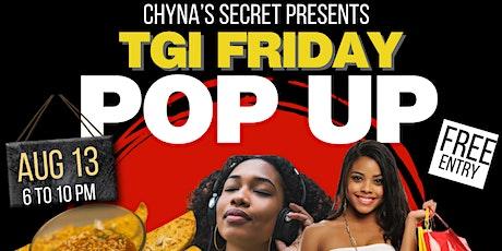 TGI Friday Pop Up tickets