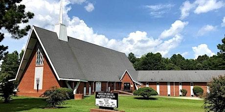 Sunday Morning Worship Registration tickets