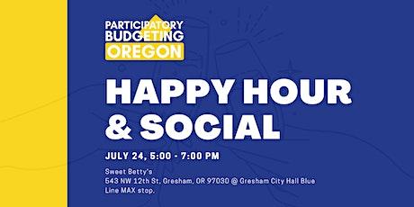 PB Oregon Happy Hour & Social tickets