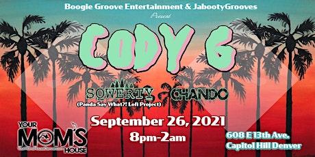 Cody G w/ SQWERTY | Chando | Hevylo | G-Wiz tickets