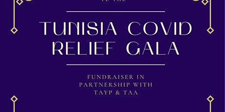 Tunisian COVID Relief Gala tickets