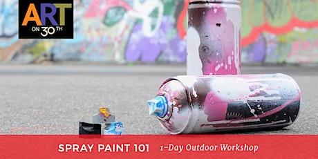 Spray Paint 101: October 1-Day Workshop tickets