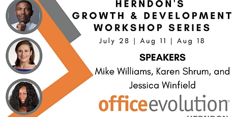 Herndons Growth and Develompent Workshop Series tickets
